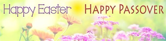 Happy Easter - Happy Passover